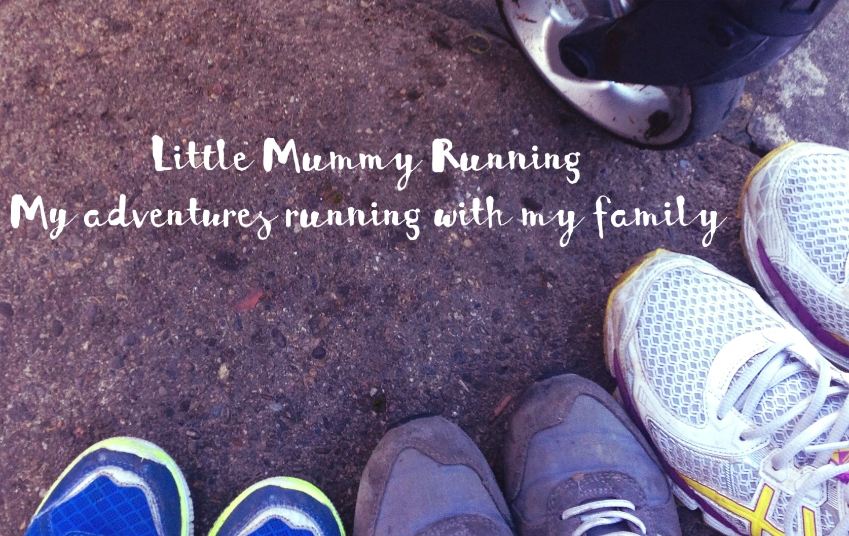 Running for, with and sometimes away from my family